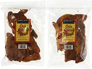 Trader Joe's Chile Spiced Mango Dried Fruit (4 Pack)
