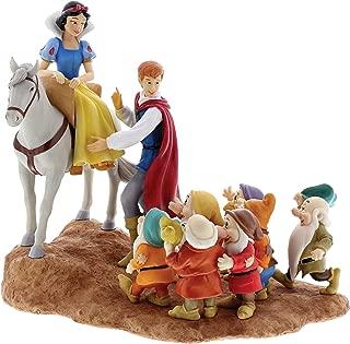 Disney Official Snow White, Prince and Seven Dwarfs 'Joyful Farewell' Figure
