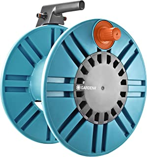 GARDENA Classic wall-fixed Hose Reel 60 with hose protection guide: For simple wall-mounting, with anti-drip device, angle...