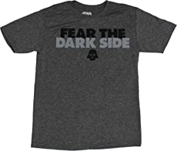 Star Wars Moisture Wicking Mens T-Shirt - Fear The Dark Side Darth Vader Image