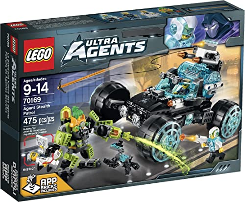 LEGO Ultra Agents Agent Stealth Patrol Toy by LEGO Ultra Agents