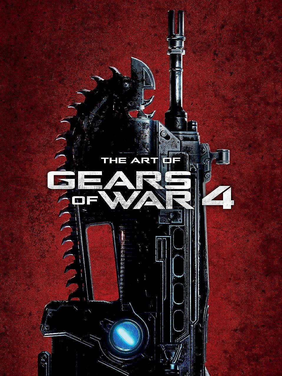 まばたき驚麺Art of Gears of War 4 (English Edition)