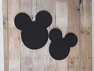 Mickey Mouse Black Head Die Cut Place Card Food Name Table Labels 20 Pieces