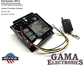 GAMA Electronics RF Remote Control 12 VDC for Hydraulic Pump Applications