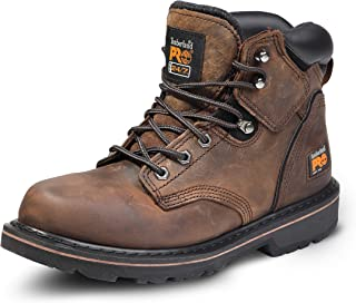 Timberland PRO Pit Boss - Zapatos profesionales, puntera de acero, para hombre, 15 cm, Negro