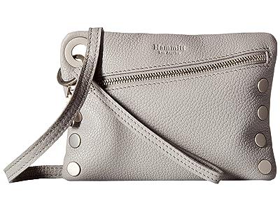 Hammitt Nash Small (Mist/Pebbled/Brushed Silver) Handbags