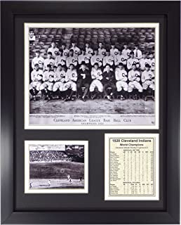 Legends Never Die 1920 MLB Cleveland Indians World Series Champions Framed Photo Collage, 11