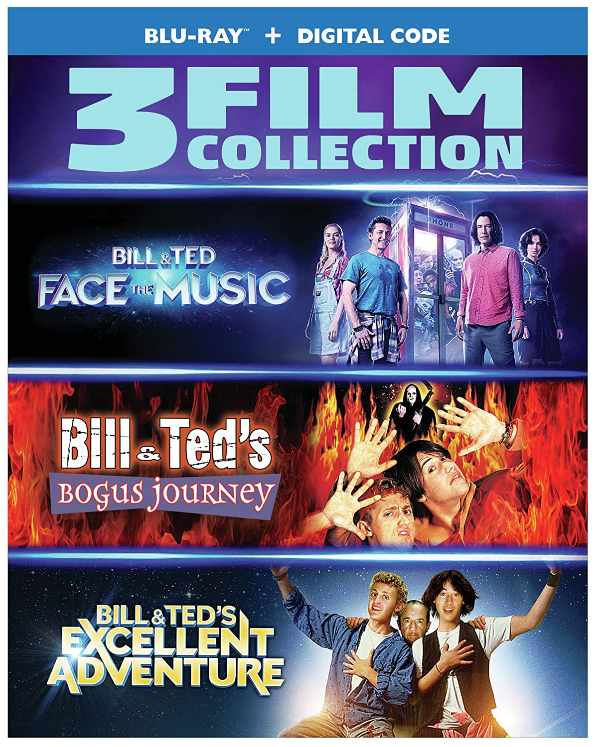 Bill Ted Face the Music Excell Journey BillTed Bogus Now free shipping Max 61% OFF