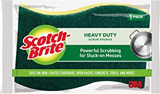 Scotch-Brite Kitchen Scrub, 1 Sponge (425), Pack of 1, Green