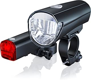 CSL-Computer Fietsverlichtingsset StVZO - StVZO toegelaten - led-fietslampenset