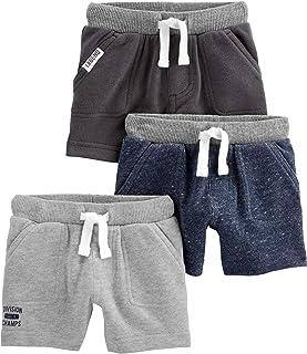 Simple Joys by Carter's Bébé garçon Shorts En Coton, Lot de 3