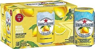 Sanpellegrino Lemon Sparkling Fruit Beverage, 11.15 fl oz. Cans (6 Pack)
