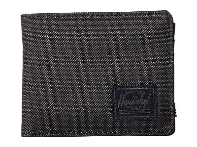 Herschel Supply Co. Roy RFID (Black/Black) Wallet Handbags