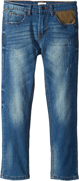 Hudson Kids - Jagger Slim Straight Five-Pocket Jeans in Zenith (Toddler/Little Kids/Big Kids)