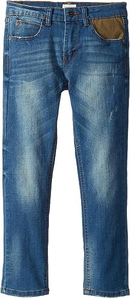 Jagger Slim Straight Five-Pocket Jeans in Zenith (Toddler/Little Kids/Big Kids)