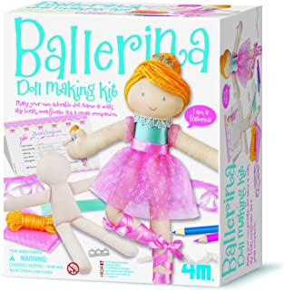4M Ballerina Doll Making Kit Arts & Crafts Toy [00-02731]