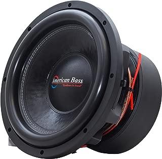 American Bass Usa HD 12D2 4000 Watt Dual 2 Ohm Subwoofer