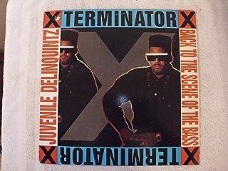 "Terminator X Juvenile Delinqiuintz / Back To The Scene Of The Bass 12"""