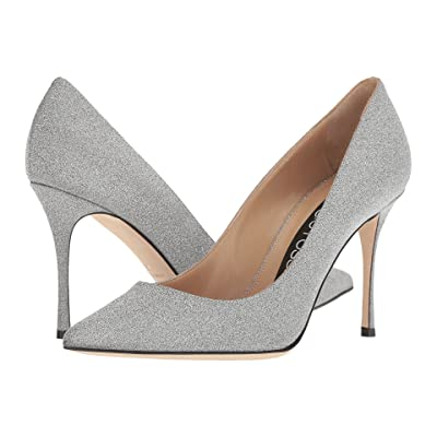 Sergio Rossi A43843-MMVL11 (Silver Glitter) High Heels