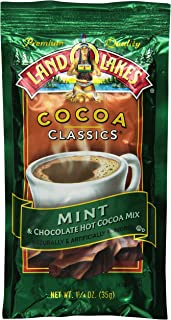 Land O Lakes Cocoa Classics, Chocolate & Mint, 1.25-Ounce Packets (Pack of 36)