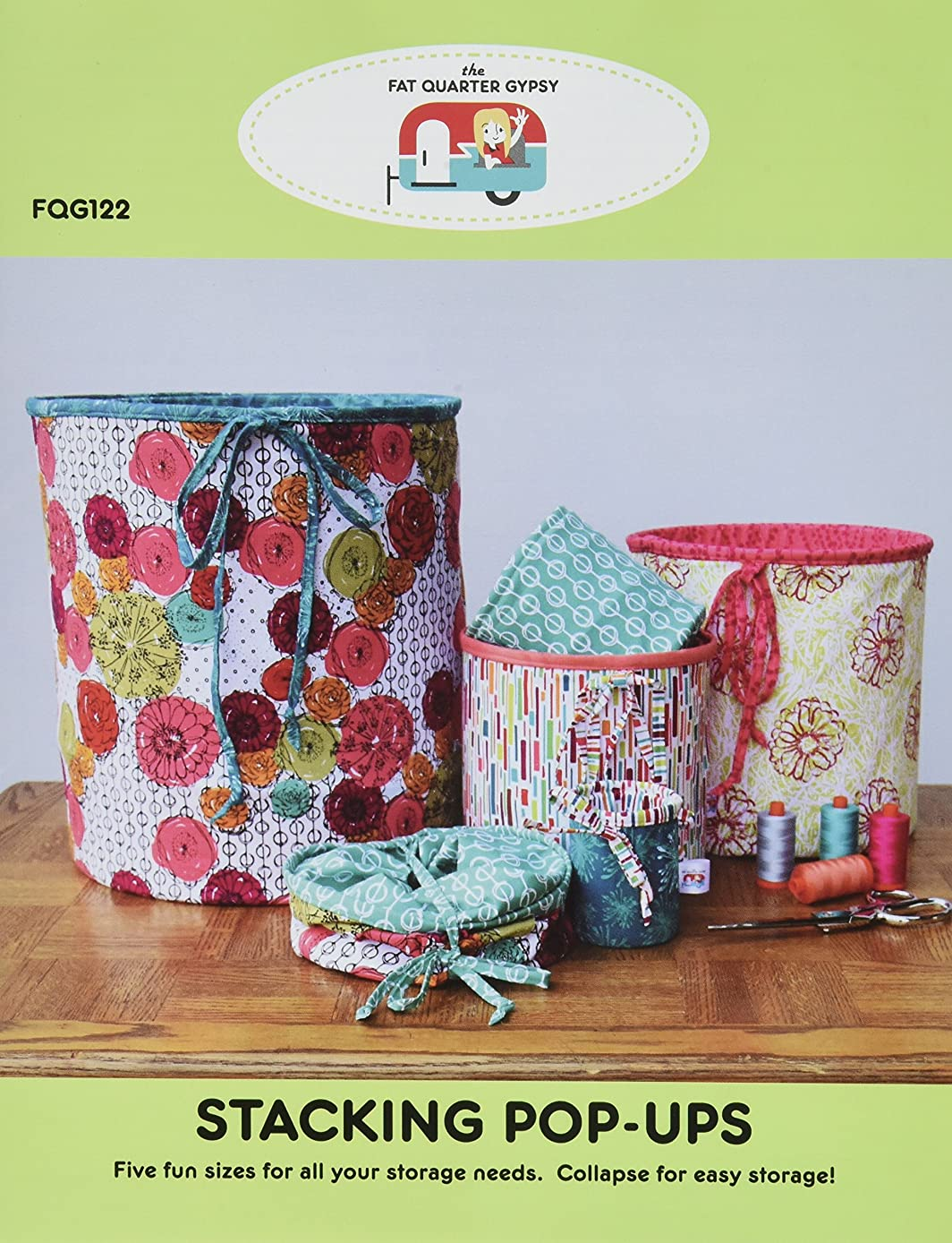 The Fat Quarter Gypsy The Stacking Pop-Up Pattern