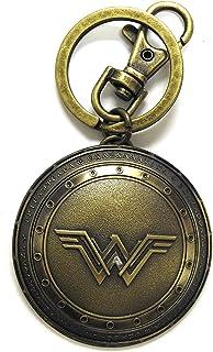 Monogram- DC Comics Llavero Escudo Wonder Woman, Multicolor (77764455025)
