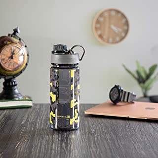 Royalford 750ml Water Bottle - Reusable Water Bottle Wide Mouth with Hanging Clip | Printed Bottle | Perfect while Travell...