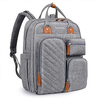 Pomelo Best Plecak do przewijania plecak ze zdejmowaną nakładką do przewijania i mocowaniem wózka, duża torba dla niemowlą...