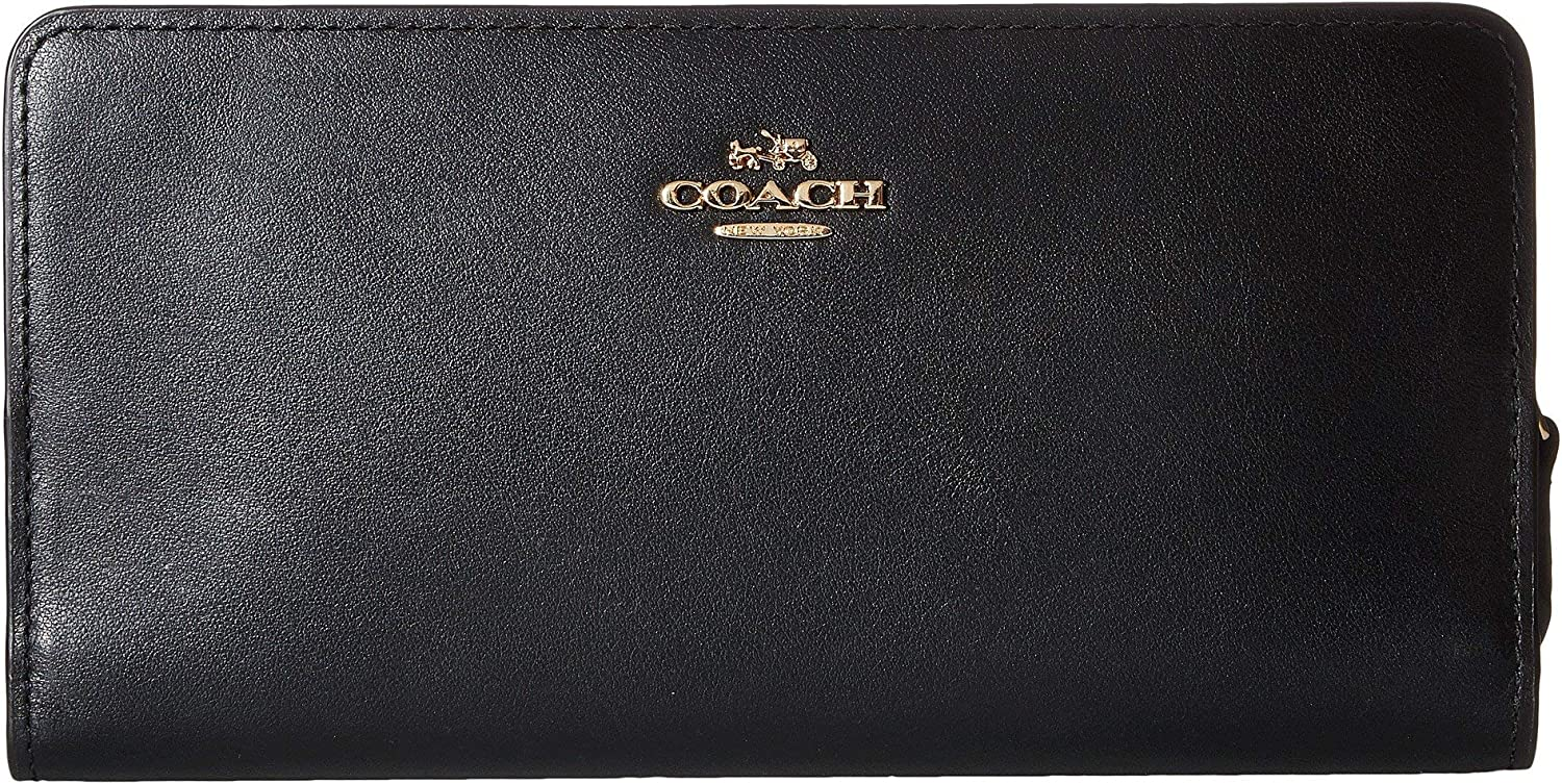 COACH Smooth Branded goods Tulsa Mall Leather Wallet Skinny