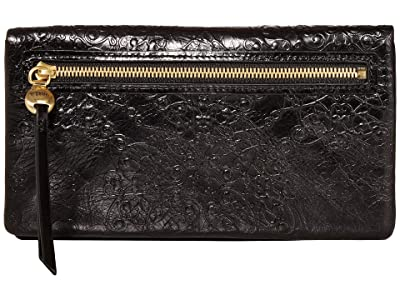 Hobo Lumen (Embossed Black) Wallet Handbags