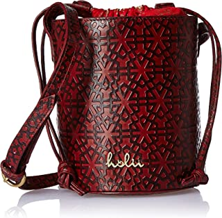 Holii Isfahan Women's Sling Bag (Dark Red)