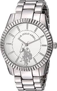 Women's Analog-Quartz Watch with Alloy Strap, Silver, 8...