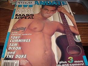 Mandate Adult Men`s Gay Magazine October 1997 Johnny Hanson