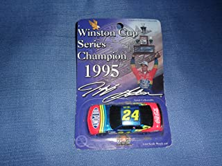 1995 NASCAR Action Racing Collectables . . . Jeff Gordon #24 Dupont Chevy Monte Carlo 1/64 Diecast . . . Winston Cup Series Champion