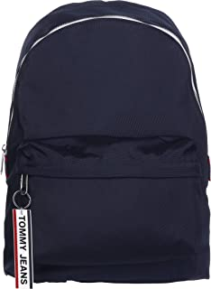 Tommy Jeans Logo Tape Backpack Nylon, Blue, AM0AM05534