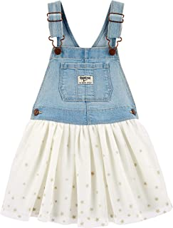 Baby Girls World's Best Overalls