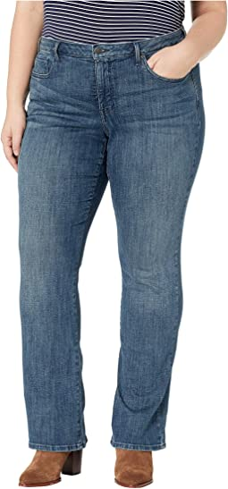 Plus Size Barbara Bootcut in Lupine