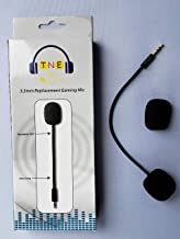 TNE Turtle Beach Mic Replacement 3.5mm Game Microphone Boom for Ear Force XO One XO Three XO Four Stealth 400 420x 450 500p 520 Recon 50x 50p 50 60p 150 Camo Xbox One PS4 Mac Computer Gaming Headsets