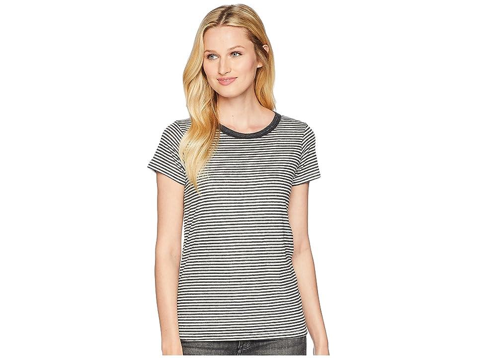 Alternative Ideal Tee (Eco Black Classic Stripe) Women