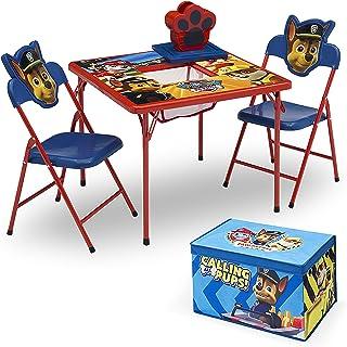 مجموعه مبلمان کودکان 4 قطعه دلتا (2 صندلی و میز و جعبه اسباب بازی پارچه ای) ، نیک جونیور PAW Patrol