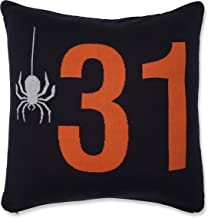 Pillow Perfect Indoor Spider 31 Throw Pillow, 18 X 18 X 5, Orange