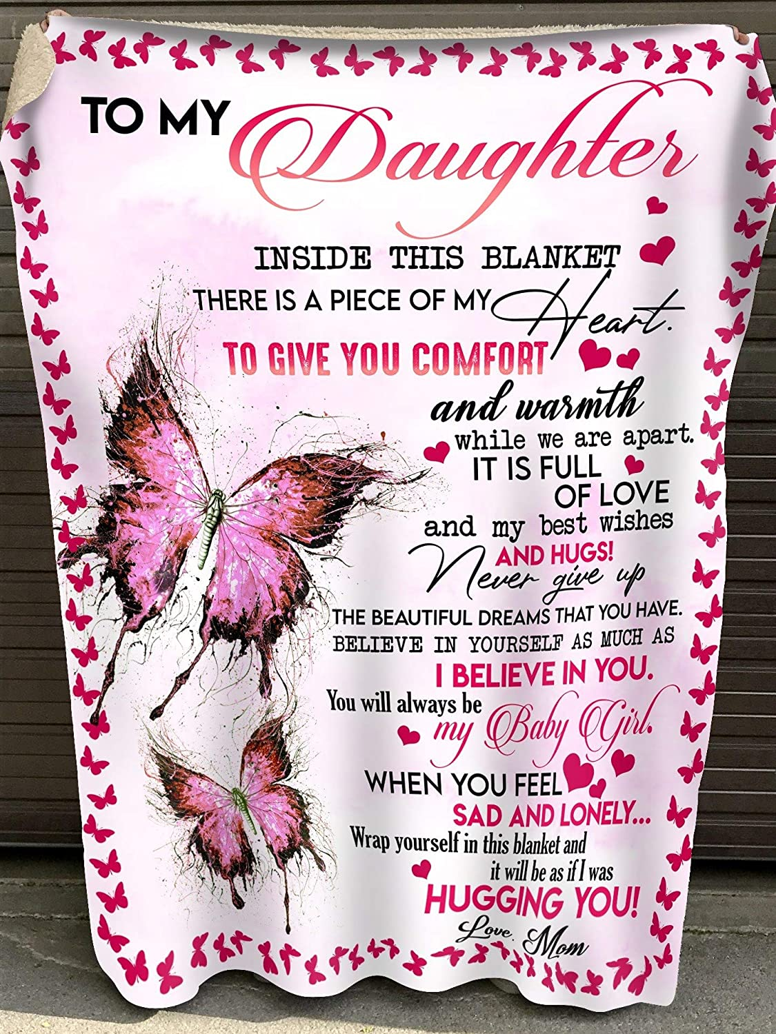 Personalized to My Daughter Gift New Orleans Mall D Excellent Mom for Blanket from