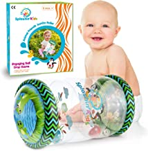 Splashin'kids Infant Toys Beginner Crawler Game Ball Drop Maze Tummy Time Activity Center Early Development Jumbo Roller Rattle Toy Baby Toys for 6 Months 1 2 3 Year olds