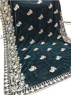 pakistani velvet shawls
