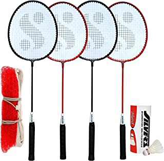 Silver's SIL-SM-Combo-9 Aluminum Badminton Set