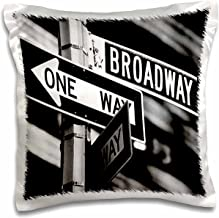 3dRose pc_1193_1 Broadway-Pillow Case, 16 by 16