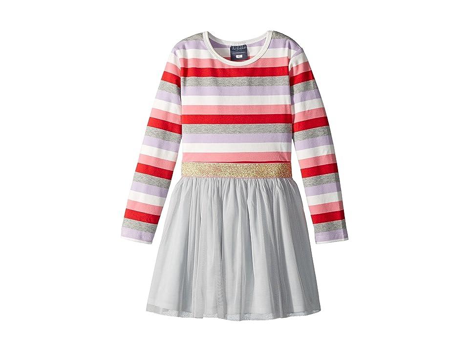 Toobydoo Sweet Lavender Tulle Dress (Infant/Toddler/Little Kids/Big Kids) (Purple/White/Pink/Red/Grey) Girl