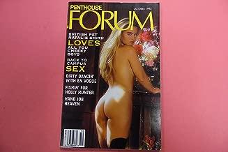 Penthouse Forum Adult Digest Magazine British Pet Natalie Smith October 1994