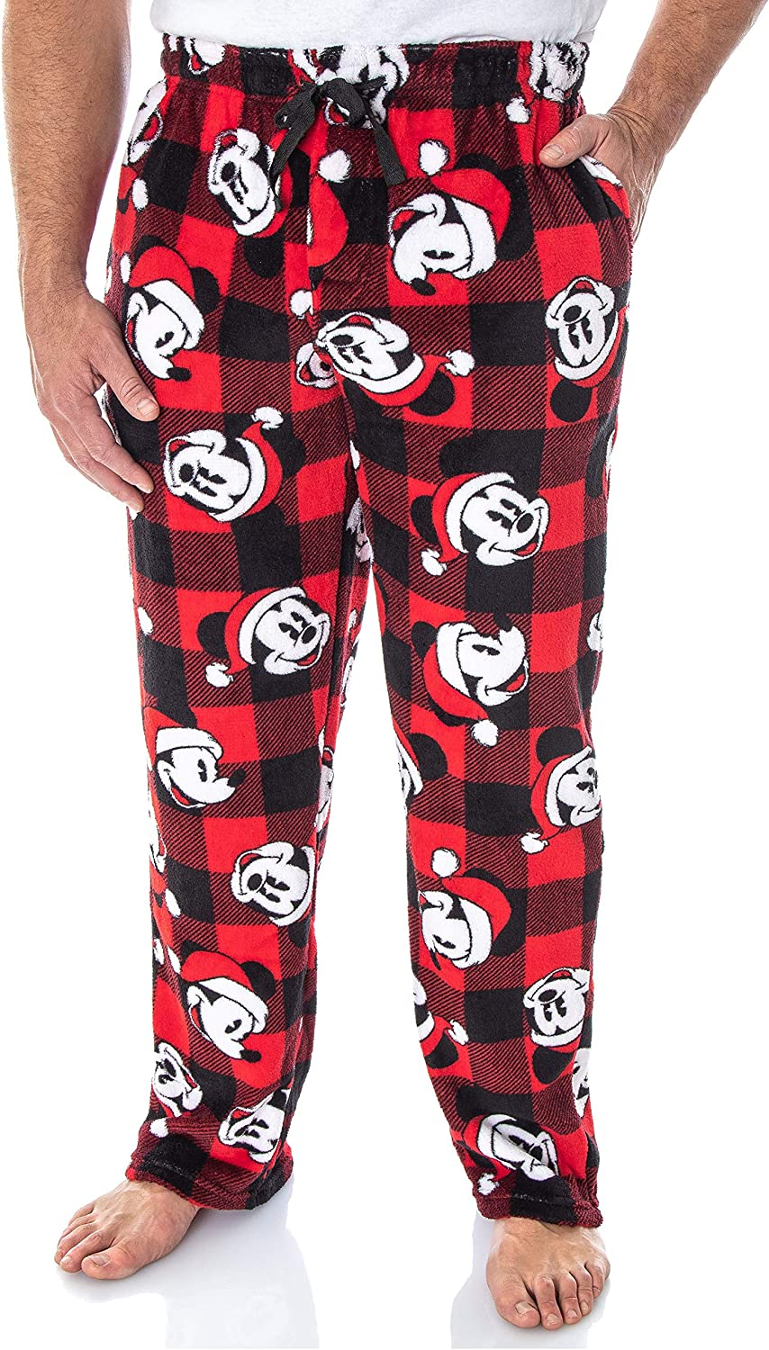 Details about  /Disney MICKEY MOUSE Men/'s 2pc MEDIUM and LARGE Pajamas PJs Sleep