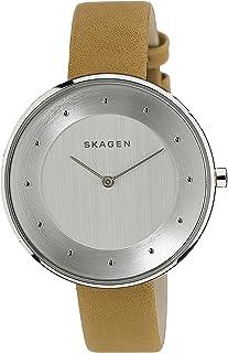 Skagen Women's SKW2326 Gitte Light Brown Leather Watch